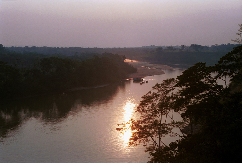 Caguan river, Colombia, 2002