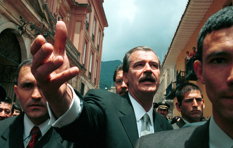 Getty Images, Vicente Fox, Bogota, Colombia