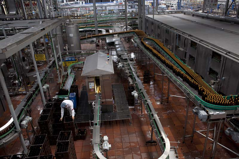 The Nature Conservancy, Bavaria beer plant, Bogota, Colombia