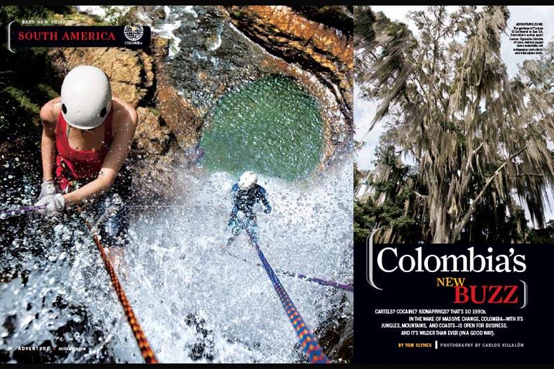 National Geographic Adventure Magazine