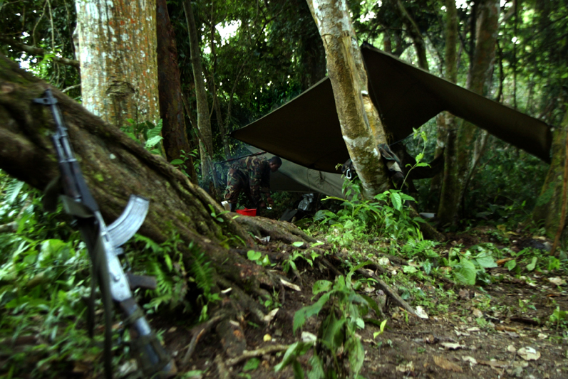 The Darien gap, Colombia