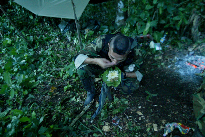The Darien gap, Colombia
