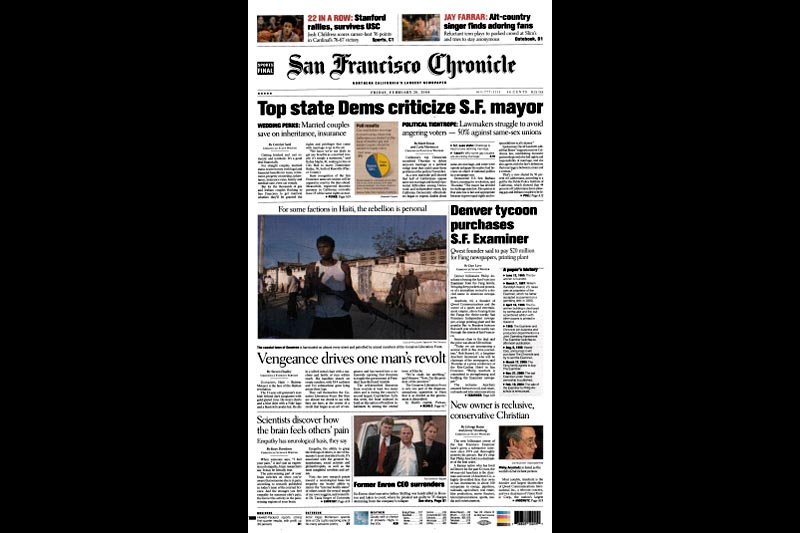The San Fco. Chronicle