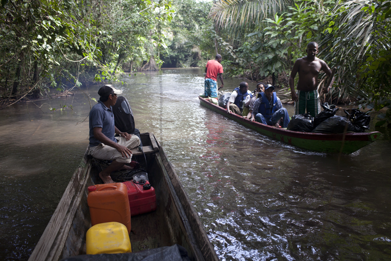 The Darien gap11